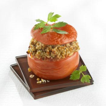 Tomates farcies aux Céréales Gourmandes® Bio