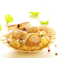 3 282 740 370 200 - AMBIANCE Coquilles St-Jacques Royales 2x120g BD Fond blanc
